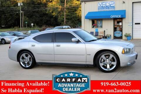 2007 Dodge Charger for sale at Van 2 Auto Sales Inc in Siler City NC