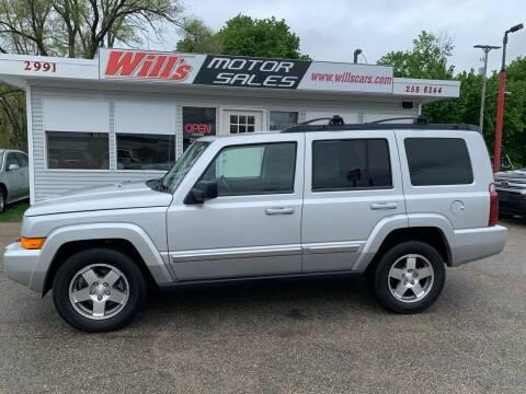 2010 Jeep Commander for sale at Will's Motor Sales in Grandville MI