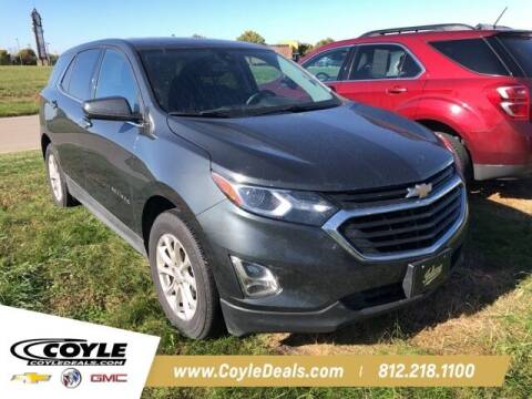 2020 Chevrolet Equinox for sale at COYLE GM - COYLE NISSAN in Clarksville IN