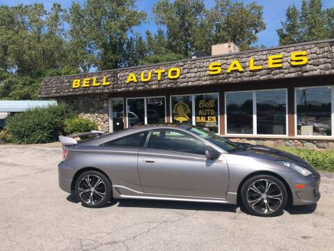 2004 Toyota Celica for sale at BELL AUTO & TRUCK SALES in Fort Wayne IN