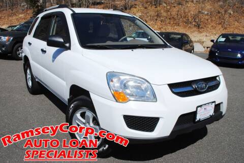 2010 Kia Sportage for sale at Ramsey Corp. in West Milford NJ