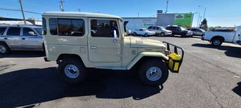 1981 Toyota Land Cruiser for sale at Cars 4 Idaho in Twin Falls ID