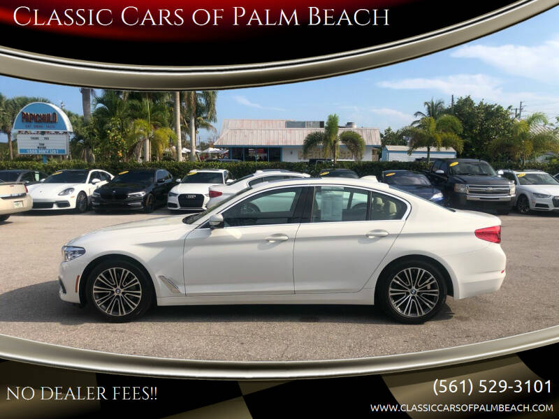 2019 BMW 5 Series for sale at Classic Cars of Palm Beach in Jupiter FL