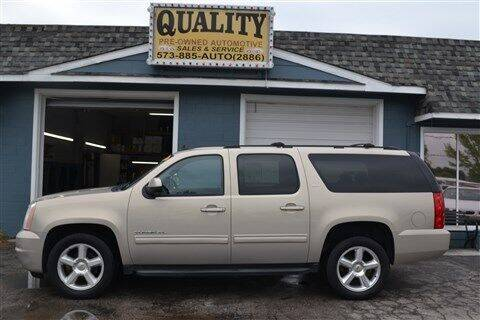 2011 GMC Yukon XL for sale at Quality Pre-Owned Automotive in Cuba MO