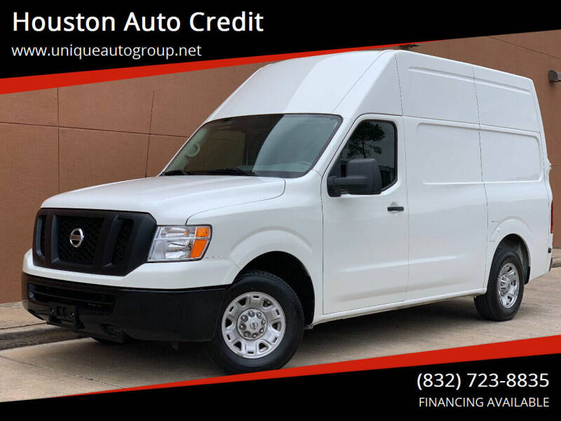2018 Nissan NV Cargo for sale at Houston Auto Credit in Houston TX