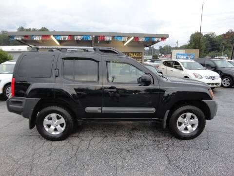 2011 Nissan Xterra for sale at HAPPY TRAILS AUTO SALES LLC in Taylors SC