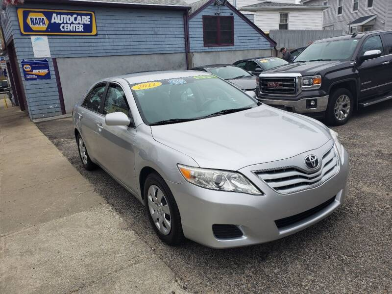 2011 Toyota Camry for sale at Fortier's Auto Sales & Svc in Fall River MA