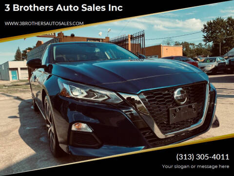2020 Nissan Altima for sale at 3 Brothers Auto Sales Inc in Detroit MI