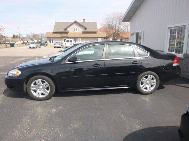 2015 Chevrolet Impala Limited for sale at JIM WOESTE AUTO SALES & SVC in Long Prairie MN
