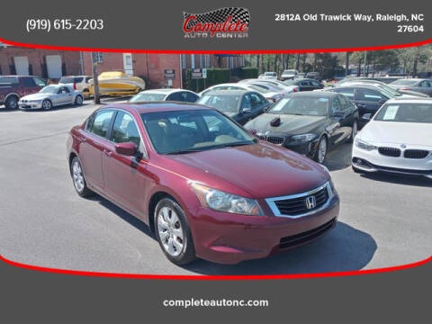2008 Honda Accord for sale at Complete Auto Center , Inc in Raleigh NC