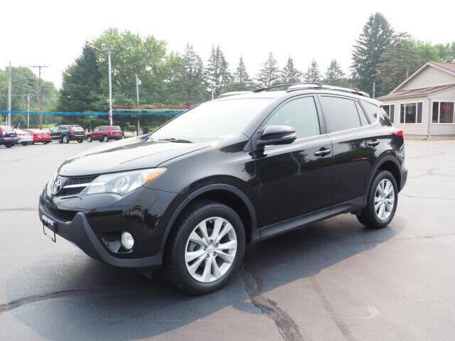 2013 Toyota RAV4 for sale at Patriot Motors in Cortland OH