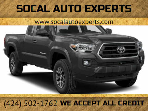 2021 Toyota Tacoma for sale at SoCal Auto Experts in Culver City CA