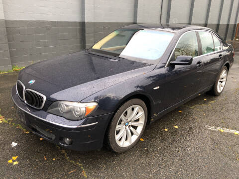 2007 BMW 7 Series for sale at APX Auto Brokers in Lynnwood WA