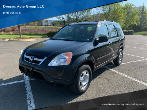 2004 Honda CR-V for sale at Dreams Auto Group LLC in Sterling VA