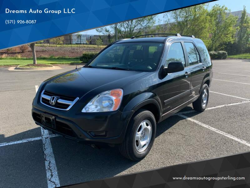 2004 Honda CR-V for sale at Dreams Auto Group LLC in Sterling VA