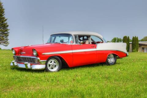 1956 Chevrolet Bel Air for sale at Hooked On Classics in Watertown MN
