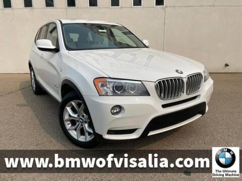 2013 BMW X3 for sale at BMW OF VISALIA in Visalia CA