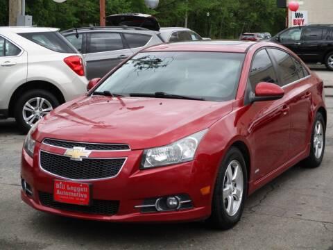 2012 Chevrolet Cruze for sale at Bill Leggett Automotive, Inc. in Columbus OH
