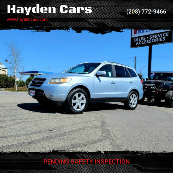 2007 Hyundai Santa Fe for sale at Hayden Cars in Coeur D Alene ID
