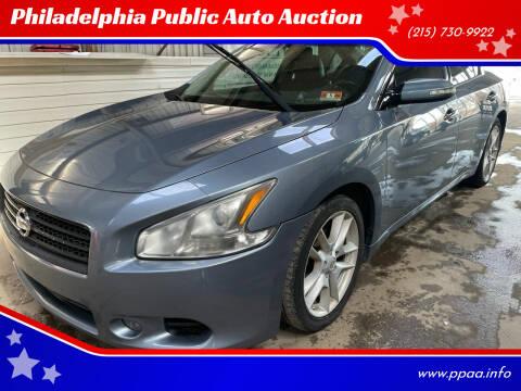 2010 Nissan Maxima for sale at Philadelphia Public Auto Auction in Philadelphia PA