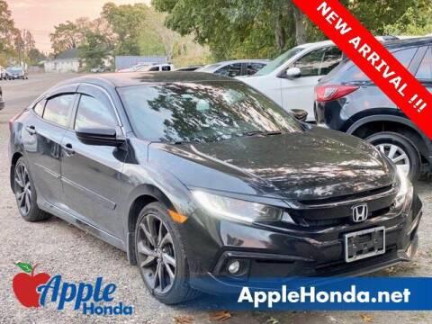 2019 Honda Civic for sale at APPLE HONDA in Riverhead NY