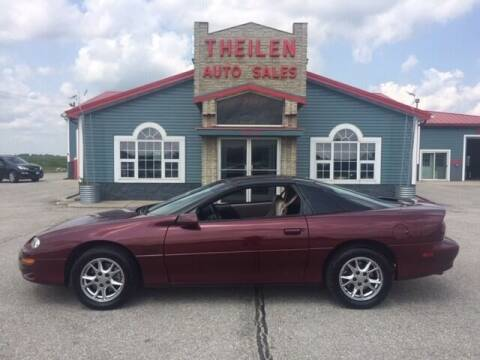 2001 Chevrolet Camaro for sale at THEILEN AUTO SALES in Clear Lake IA