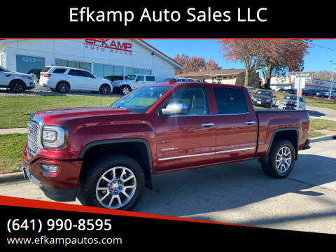 2018 GMC Sierra 1500 for sale at Efkamp Auto Sales LLC in Des Moines IA