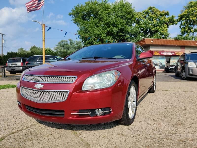 2009 Chevrolet Malibu for sale at Lamarina Auto Sales in Dearborn Heights MI