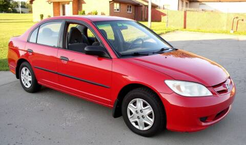 2005 Honda Civic for sale at Angelo's Auto Sales in Lowellville OH