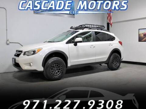 2013 Subaru XV Crosstrek for sale at Cascade Motors in Portland OR