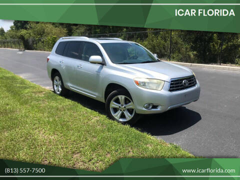 2009 Toyota Highlander for sale at ICar Florida in Lutz FL