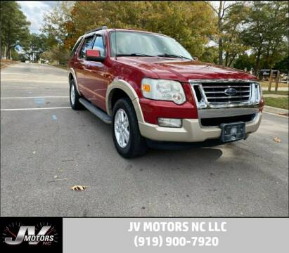2010 Ford Explorer for sale at JV Motors NC LLC in Raleigh NC