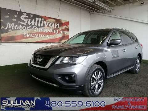 2018 Nissan Pathfinder for sale at SULLIVAN MOTOR COMPANY INC. in Mesa AZ