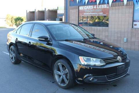2012 Volkswagen Jetta for sale at NV Cars 4 Less, Inc. in Las Vegas NV