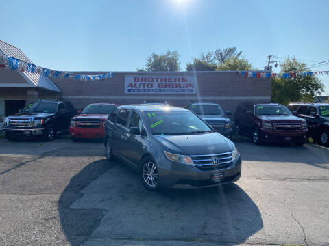 2011 Honda Odyssey for sale at Brothers Auto Group in Youngstown OH