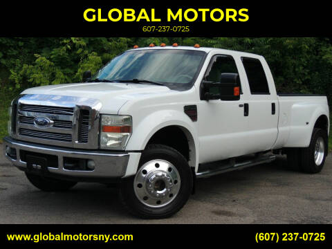 2008 Ford F-450 Super Duty for sale at GLOBAL MOTORS in Binghamton NY