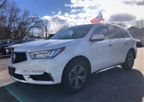 2018 Acura MDX for sale at Top Line Import in Haverhill MA