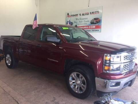 2014 Chevrolet Silverado 1500 for sale at Antonio's Auto Sales in South Houston TX