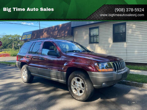 2000 Jeep Grand Cherokee for sale at Big Time Auto Sales in Vauxhall NJ