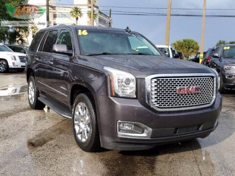 2016 GMC Yukon for sale at GATOR'S IMPORT SUPERSTORE in Melbourne FL