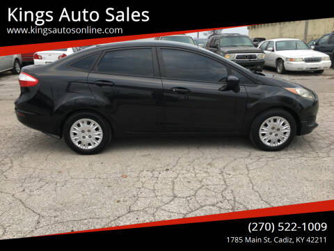 2015 Ford Fiesta for sale at Kings Auto Sales in Cadiz KY