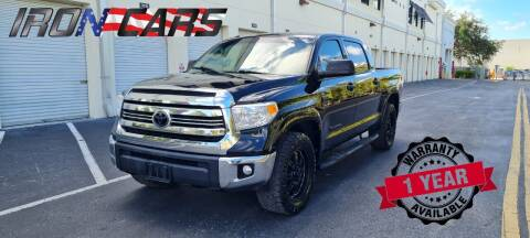 2017 Toyota Tundra for sale at IRON CARS in Hollywood FL