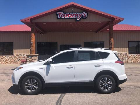 2017 Toyota RAV4 Hybrid for sale at Tommy's Car Lot in Chadron NE