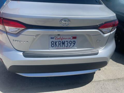 2020 Toyota Corolla for sale at Brand Motors llc in Belmont CA