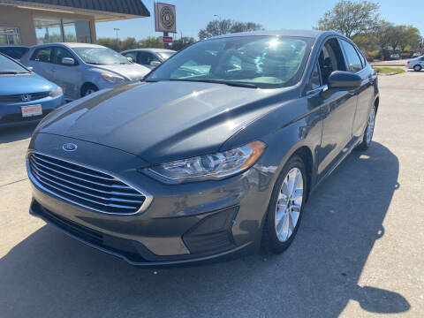 2019 Ford Fusion Hybrid for sale at Houston Auto Gallery in Katy TX