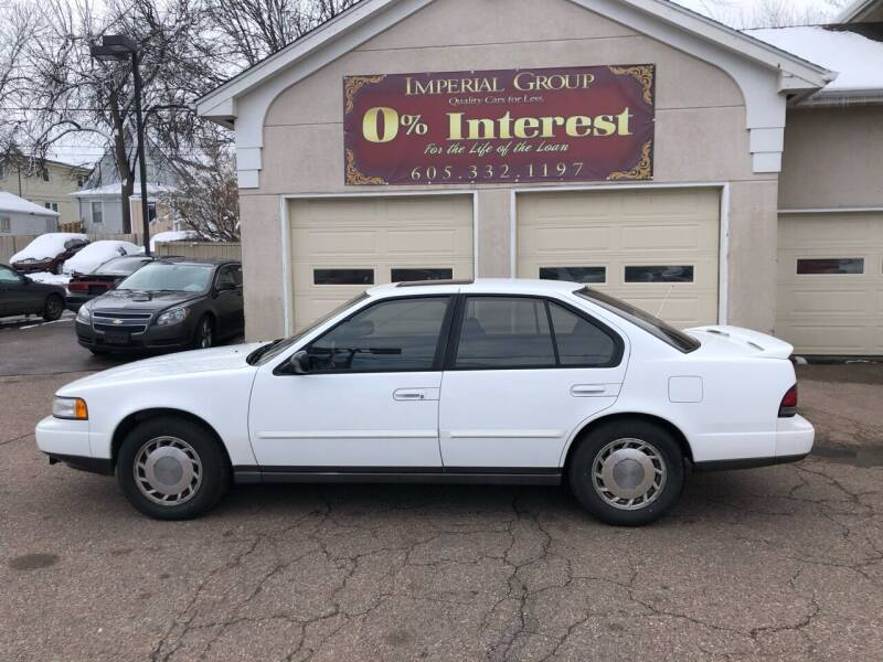 1991 Nissan Maxima for sale at Imperial Group in Sioux Falls SD
