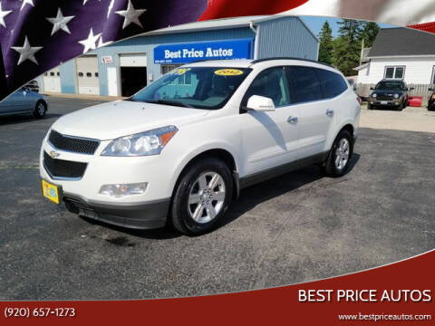 2012 Chevrolet Traverse for sale at Best Price Autos in Two Rivers WI