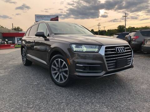 2017 Audi Q7 for sale at Mass Motors LLC in Worcester MA