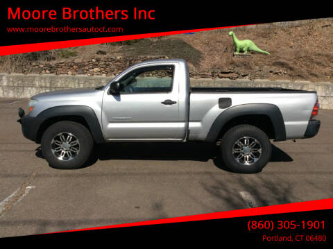 2010 Toyota Tacoma for sale at Moore Brothers Inc in Portland CT
