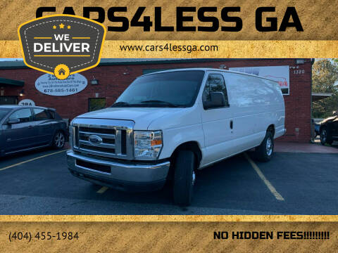 2013 Ford E-Series Cargo for sale at Cars4Less GA in Alpharetta GA